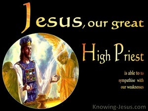 Our Great High Priest (devotional) (black) - Hebrews 4:15