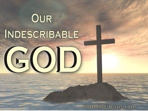 Our Indescribable God (devotional) (gold) - Psalm 145:3