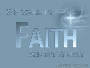 Possible Faith (devotional) (blue) - 2 Corinthians 5:7