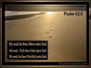 Sacrifice Of Silence (devotional) (brown) - Psalm 62:5