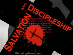Salvation and Discipleship (devotional) (red) - Luke 14:26