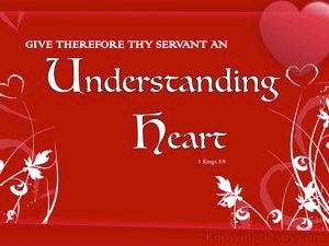 1 Kings 3:9 Spiritual Understanding (devotional)06:01 (maroon)