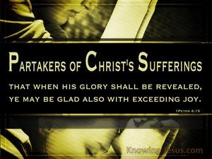 1 Peter 4:15 Suffering But Rejoicing (devotional)02:27 (black)
