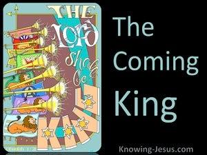 Obadiah 1:21 The Coming King (devotional)08:22 (black)