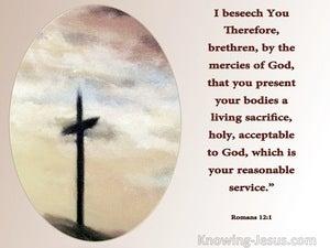 The Divine Life (devotional) - Romans 12:1