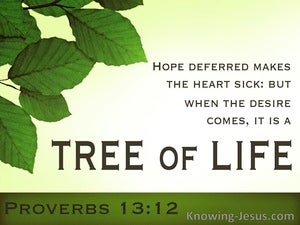 Proverbs 13:12 The Joy of Deferred Hope (devotional)03:03 (green)