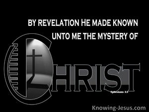 Ephesians 3:4 The Mystery of Christ (devotional)08:23 (black)