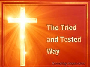 The Tried and Tested Way (devotional) (orange) - Lamentations 3-22