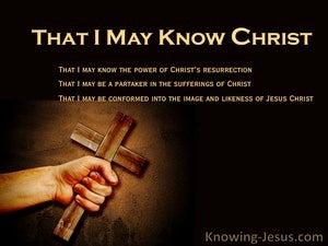 The Unknowable God (devotional) (brown) - Philippians 3:10