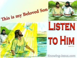 The Voice Of My Beloved (devotional) (red) - Luke 9:35