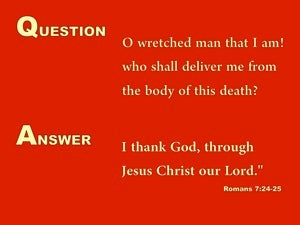 The Way Up is Down (devotional) (red) - Romans 7:24
