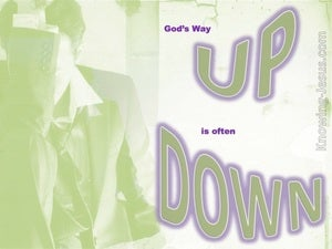 The Way Up is Down (devotional) - Romans 7-24