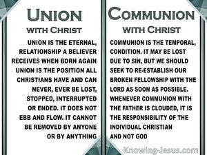 Union and Communion (devotional) (white) - Philippians 2:1