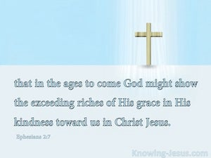 What Grace (devotional) (blue) - Ephesians 2:7