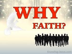 Why Faith (devotional) - Isaiah 26:3