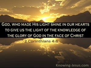 2 Corinthians 4:6 The Light Of The Knowledge Of The Glory Of God In The Face Of Christ (windows)06:01