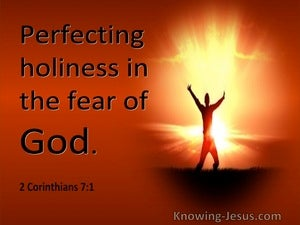 2 Corinthians 7:1 Perfecting Holiness In The Fear Of God (utmost)03:18