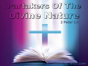 2 Peter 1:4 Partakers Of The Divine Nature (utmost)05:16