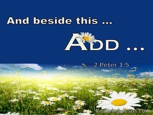 2 Peter 1:5 And Beside This Add (utmost)06:15