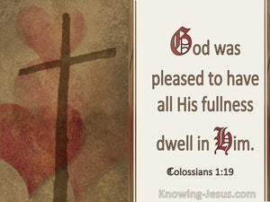 Colossians 1:19 God Was Pleased To Have All His Fullness Dwell In Him (windows)01:15