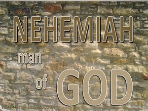 Nehemiah 1:5 Man Of God (devotional)12:01 (beige)