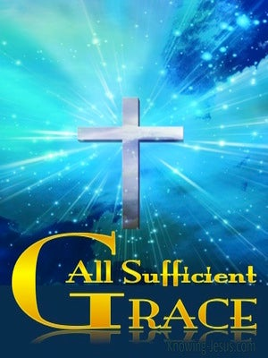 1 Corinthians 9:8 All Sufficient Grace (devotional)01:16 (blue)