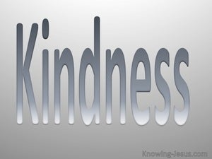 Galatians 5:22 Fruit Of The Spirit Is Kindness gray
