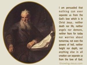 An Invincible Faith (devotional) (beige) - Romans 8 38