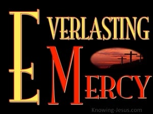 Everlasting Mercy (devotional) (red) - Psalm 100:5