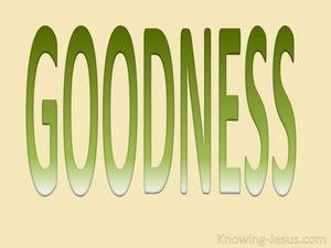 Galatians 5:22 Fruit Of The Spirit Is Goodness (green)