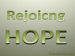 Rejoicing Hope (devotional)