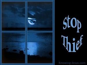 Stop Thief (devotional)