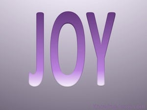 Galatians 5:22 Fruit Of The Spirit Is Joy purple