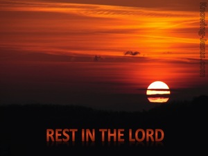Rest In The Lord (devotional) (brown) - Psalm 37:7
