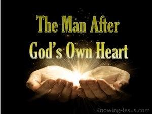 1 Samuel 13:14 The Man After God's Own Heart (devotional) (black)