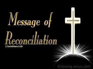 2 Corinthians 5:20 Message of Reconciliation (white)