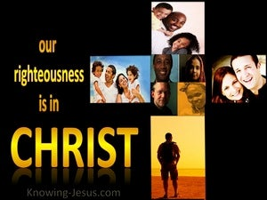 His Righteousness, My Glorious Garment (devotional) - Philippians 3:9