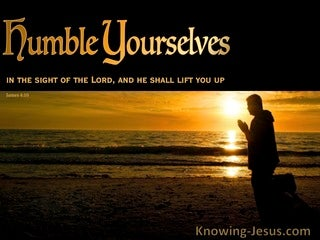 James 4:10 Humble Yourself (devotional)06-06 (brown)