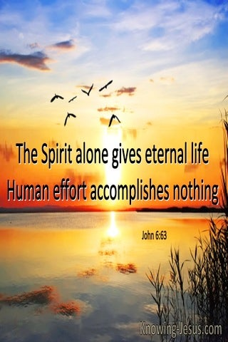 John 6:63 The Spirit Alone Gives Eternal Life (windows)04:16