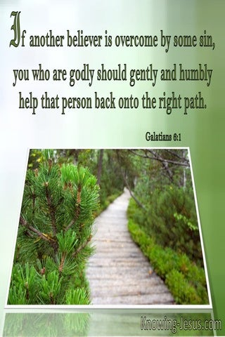 Galatians 6:1 Gently And Humbly Help That Person (windows)02:03