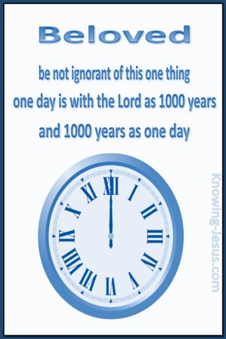 2 Peter 3:8 1000 Years Is As 1 Day (white)