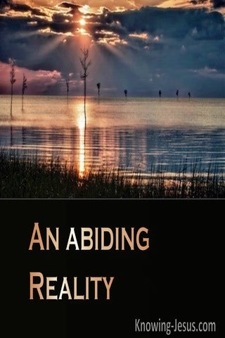 An Abiding Reality (devotional)12-28   (black)