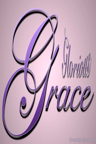 His Glorious Grace (purple)
