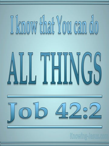 Job 42:2 You Can Do All Things (blue)