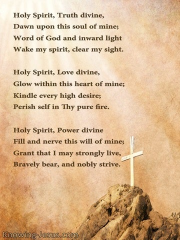 Our Holy Helper (devotional)10-20 (brown) - poem