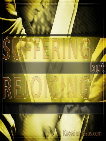 Suffering But Rejoicing (devotional) (yellow)