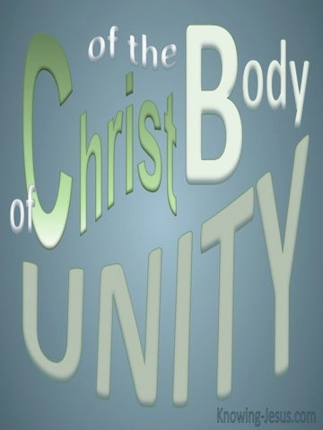 Unity Of The Body Of Christ (gray) Ephesians 4-12