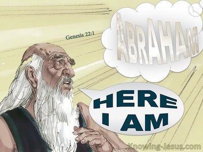 Genesis 22:1 God Tested Abraham (gray)