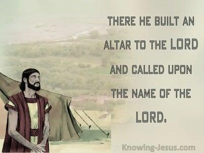 46 Bible Verses About Building Altars