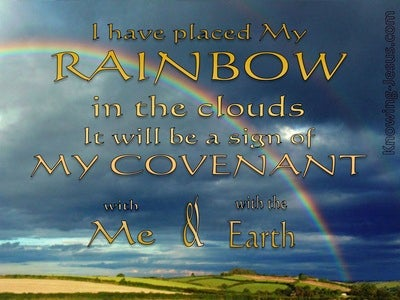 bible verses about the rainbow